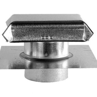 J Vent with Extension - Galvanized-0