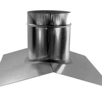 Round Roof Vent Base - Saddle -0