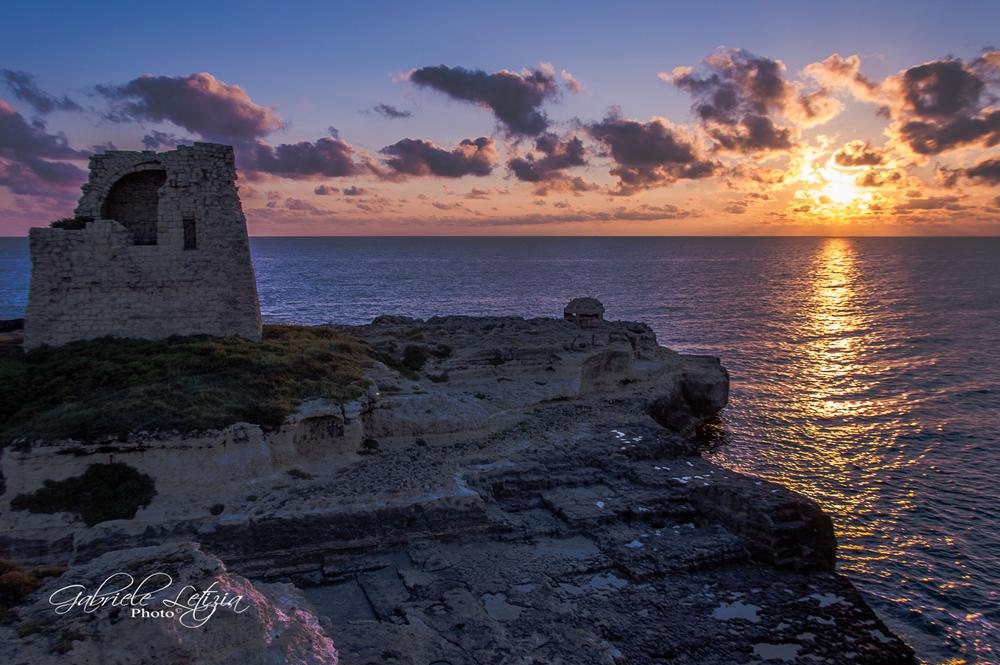Racconta il tuo SUD  Puglia alba a Roca Vecchia