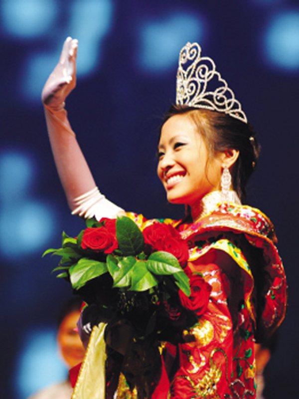 世界名人網 - 舊金山社區資訊 - 快訊:休斯頓華埠小姐吳欣雲(Cindy Wu)榮獲2009年全美華埠小姐桂冠(圖)