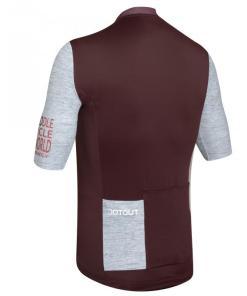 FUTURE maillot m/corta Burdeos-Gris