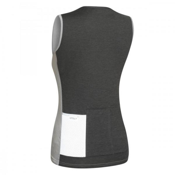 JUST maillot s/mangas Gris Claro