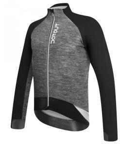 le maillot chaqueta invierno gris-negro