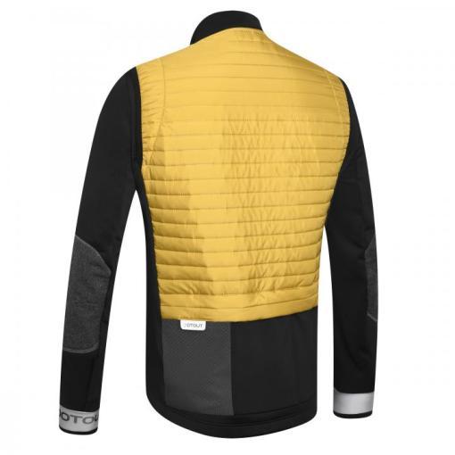 spirited chaqueta invierno oro-negro