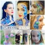 kurs malowania twarzy Farby facepainting Kraków 033