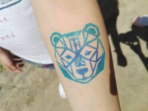 tatuaże brokatowe kraków