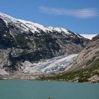 Der Nigardsbreen Gletscher