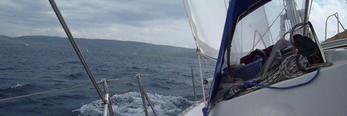 Draußen auf dem weiten (Mittel-)Meer