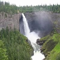 Die Helmcken Falls - 141 Meter freier Fall für den Murtle River