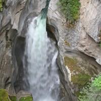 Der Blick runter in den Malign Canyon