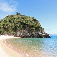 Der Strand am Taupo Point - Karibik-Feeling pur!