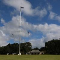 Auf dem Gelände der Waitangi Treaty Grounds