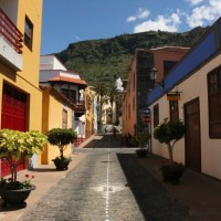 Straßenszene in Garachico