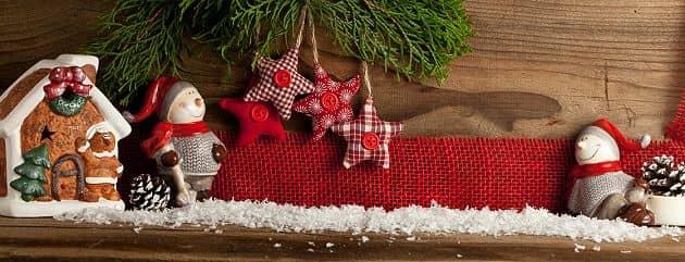 Weihnachtsdeko basteln mit Kindern