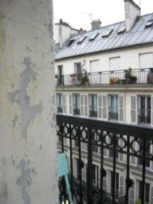 Ausblick aus Hostel - Haus