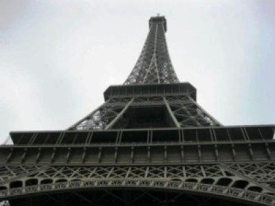 Eiffelturm - hoch