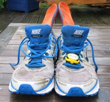 Schuhe. Durchnässt.