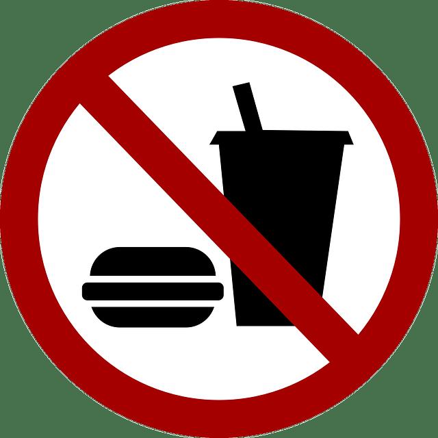 Essen. Unerwünscht.