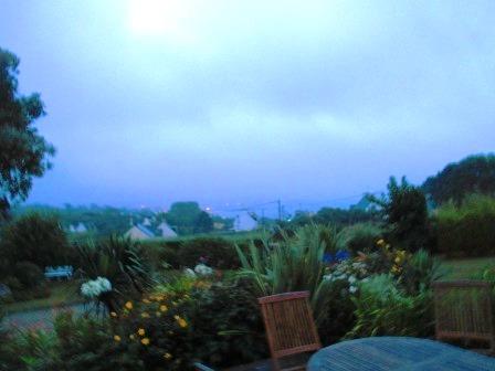 Esquibien bei Regen. Mal wieder.
