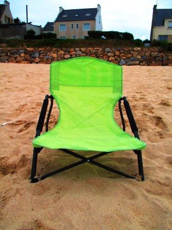 Strandstuhl. Grün.