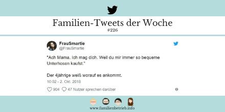 Familien-Tweets der Woche #226