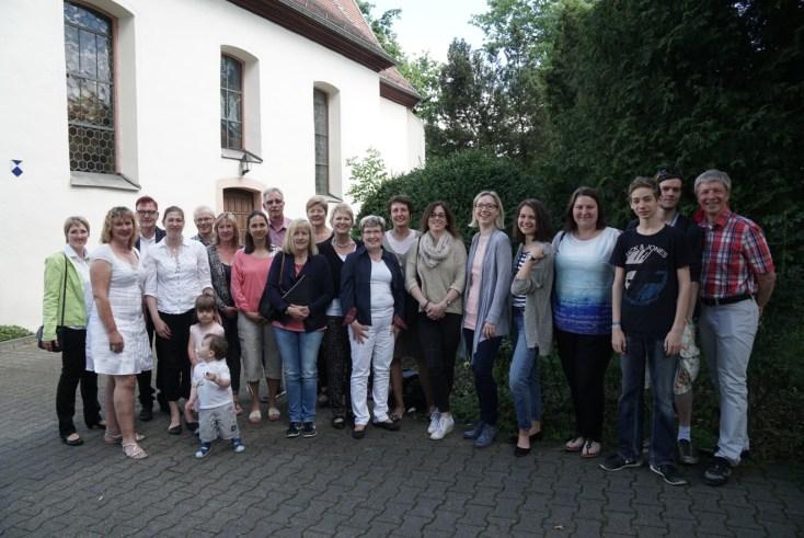 Familienchor Gruppenbild Taufgottesdienst
