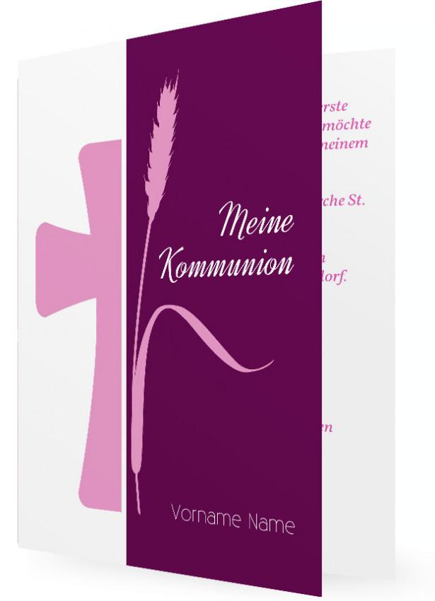 Einladung Erstkommunion Vorlagen  Familieneinladungende