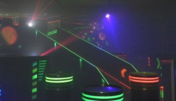 Lasercity Biel Spass und Anstrengung zugleich