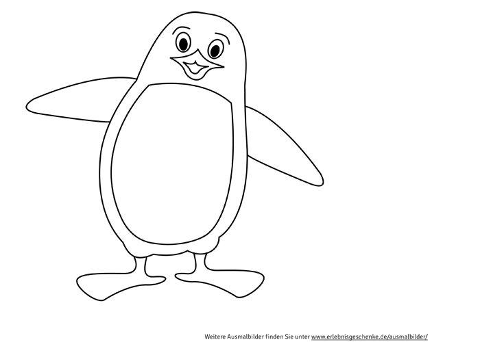 Bild 3 - Ausmalbilder Pinguin