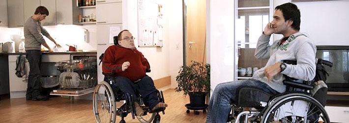 Behindertengerechte Umgestaltung einer Wohnung