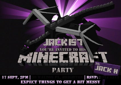 Mind Blowing Minecraft Birthday Party Ideas On A Budget