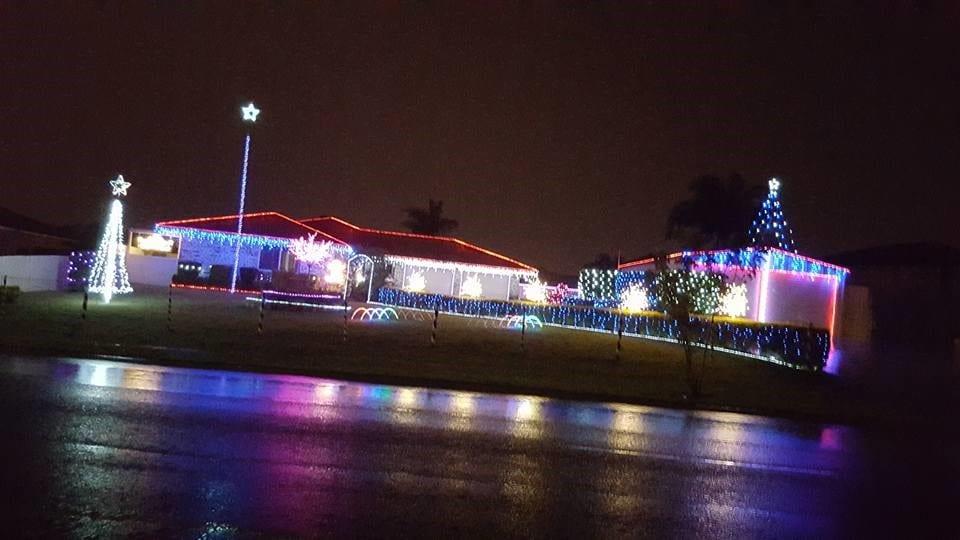 Christmas Lights Northern Suburbs