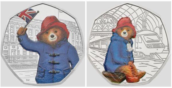 paddington bear 50p # 57