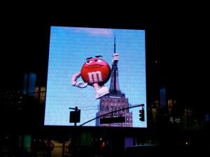 M&M's sur l'Empire State building