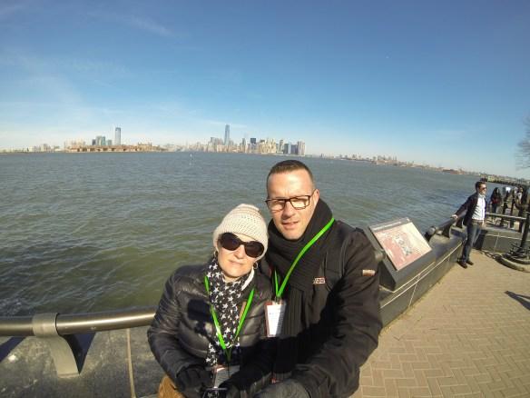 Manhattan depuis Liberty Island