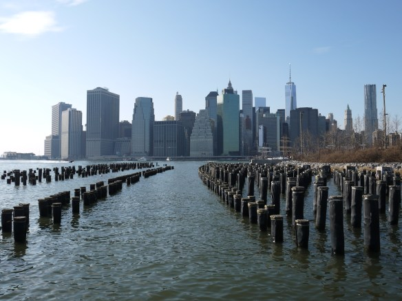 La Skyline vue de Brooklyn