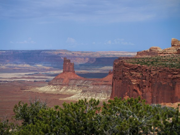 Canyonlands NP, Chimney rock