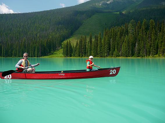 Emerald lake, Yoho, Canada