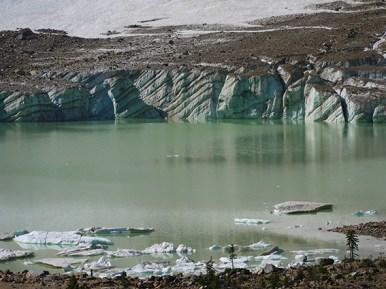 Edith Cavell glacier, Jasper, Canada