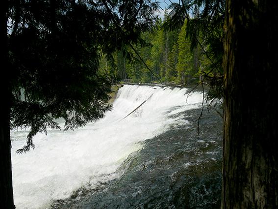 Dawson falls, Wells Gray park