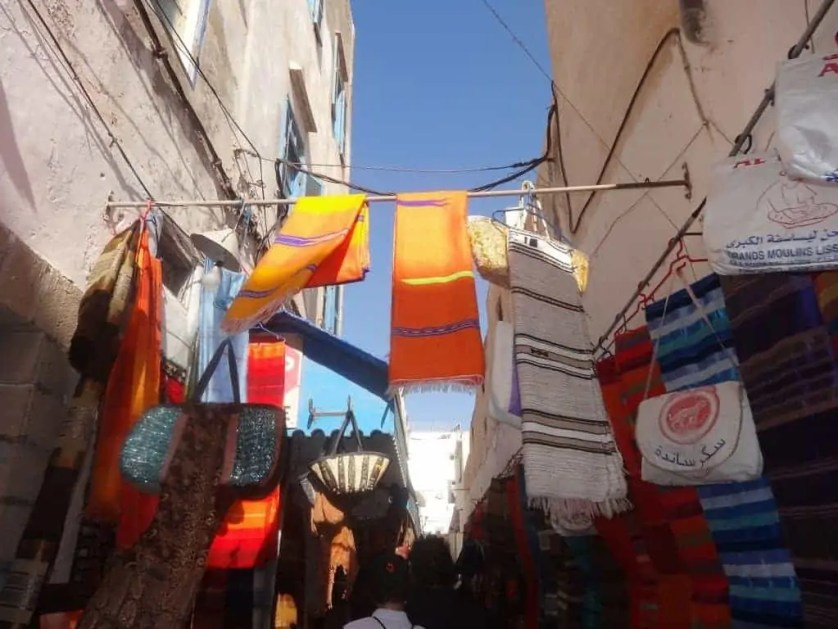 balade en famille à Essaouira-Maroc