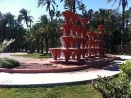 Le jardin municipal d'Elche