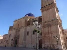 La Basilique de Santa Maria à Elche