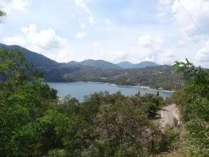 Lac pres de Bologne