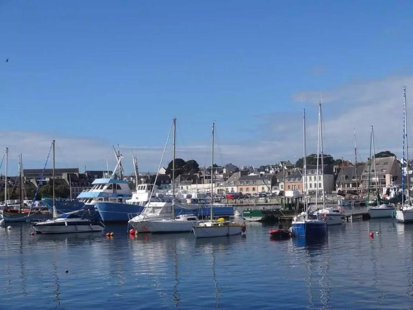 le port de Concarnau dans le Finistère -famille nomade digitalle