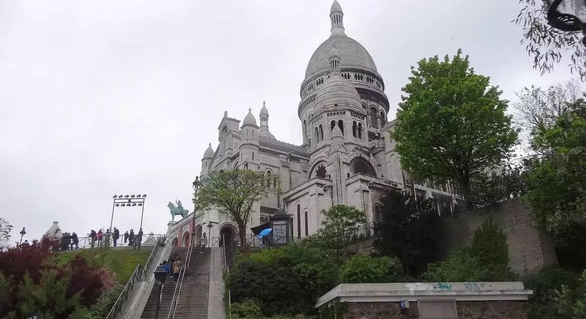 Paris et le Sacré-Cœur de Montmartre