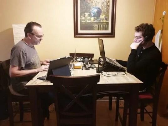 famille nomade digitale a Montral