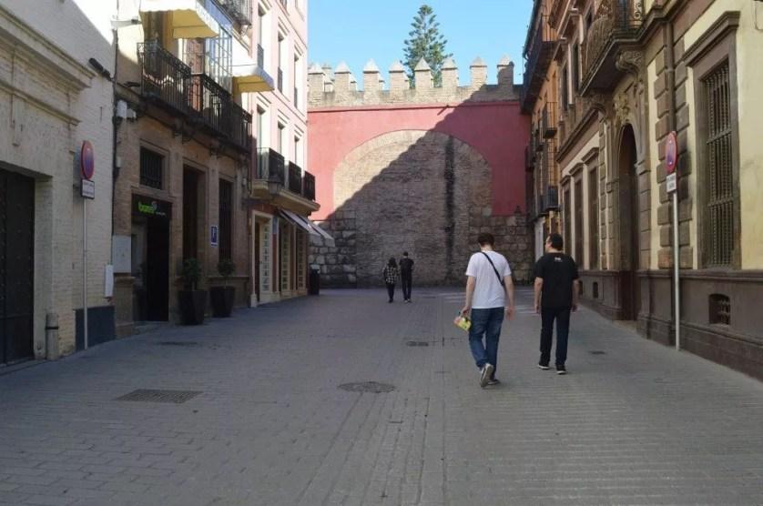 La famille nomade digitale en Andalousie-balade en famille à visiter Séville