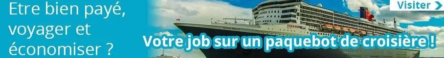 Trouver un job sur un paquebot de croisière
