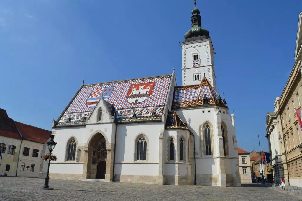 séjour à Zagreb-chapelle St Marc -Famille nomade digitale